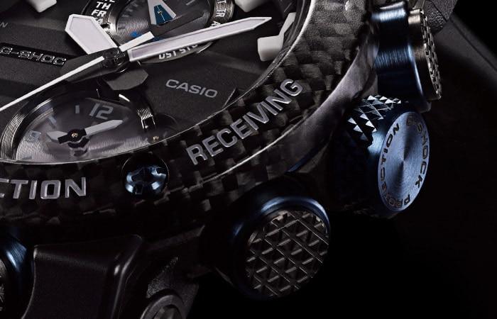 Zegarek męski Casio g-shock master of g GWR-B1000-1A1ER - duże 6