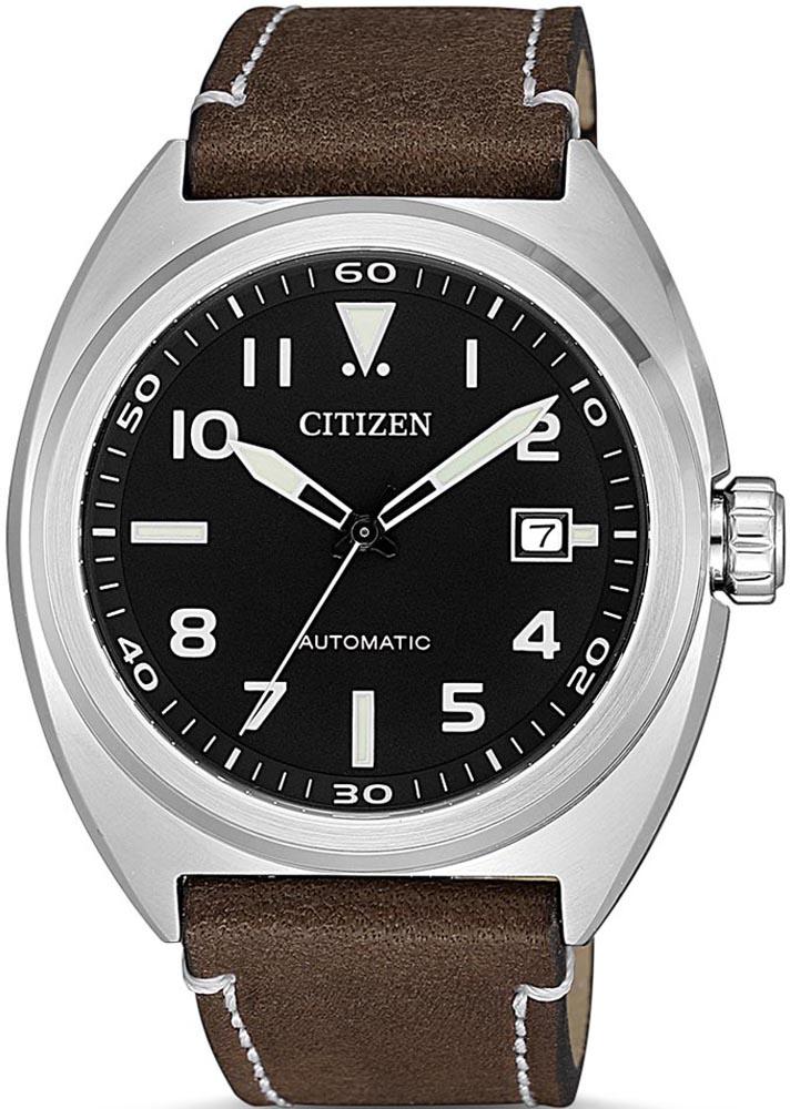 Zegarek męski Citizen automat NJ0100-11E - duże 1