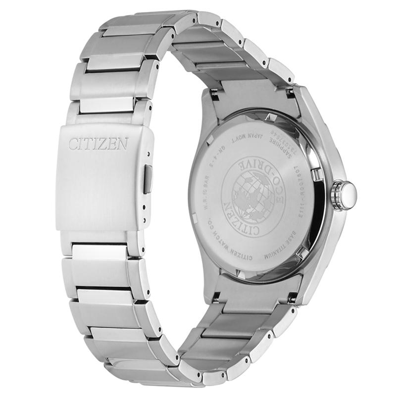 Zegarek męski Citizen titanium BM7360-82E - duże 2