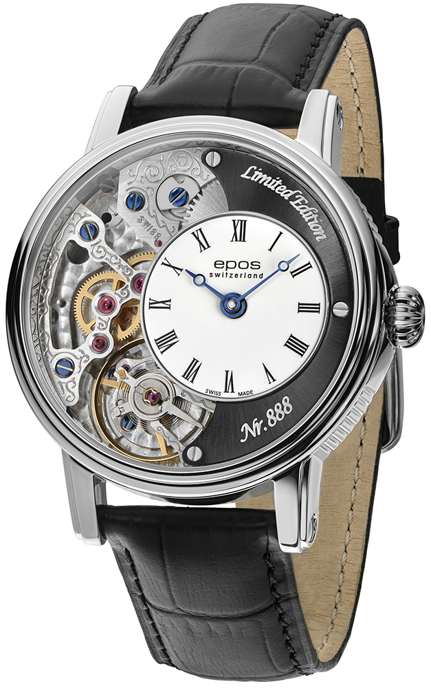 Zegarek męski Epos oeuvre d'art 3435.313.20.25.25 - duże 1