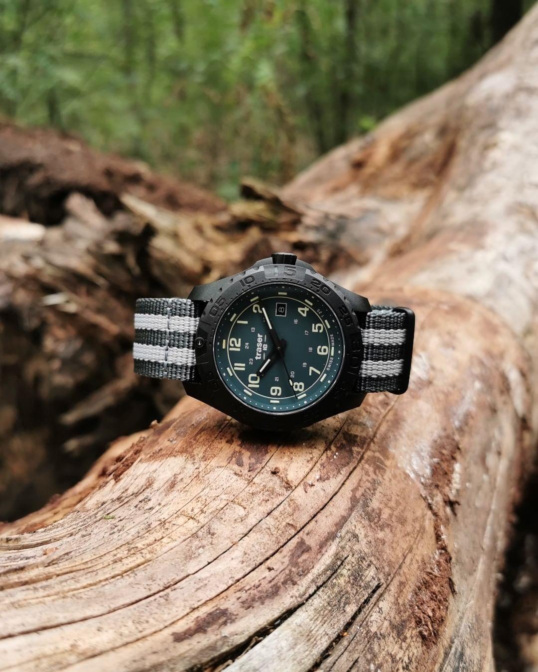 Zegarek męski Traser p96 outdoor pioneer evolution TS-109037 - duże 1