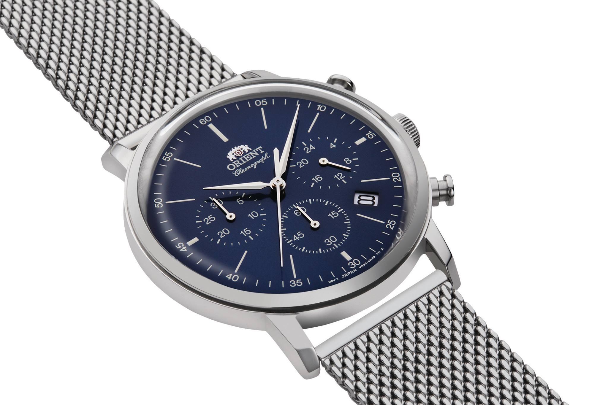 Zegarek męski Orient classic RA-KV0401L10B - duże 1
