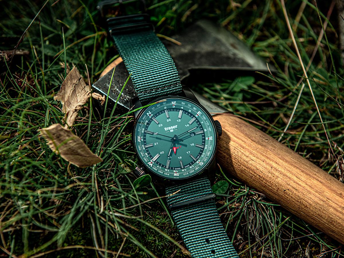 Zegarek męski Traser p68 pathfinder TS-109035 - duże 6