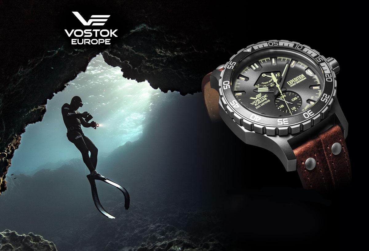 Zegarek męski Vostok Europe expedition everest underground YN84-597A543 - duże 4