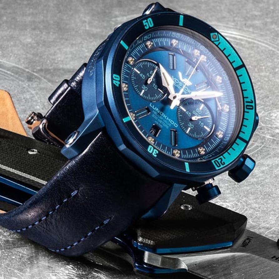 Zegarek męski Vostok Europe lunokhod 6S21-620E278 - duże 2