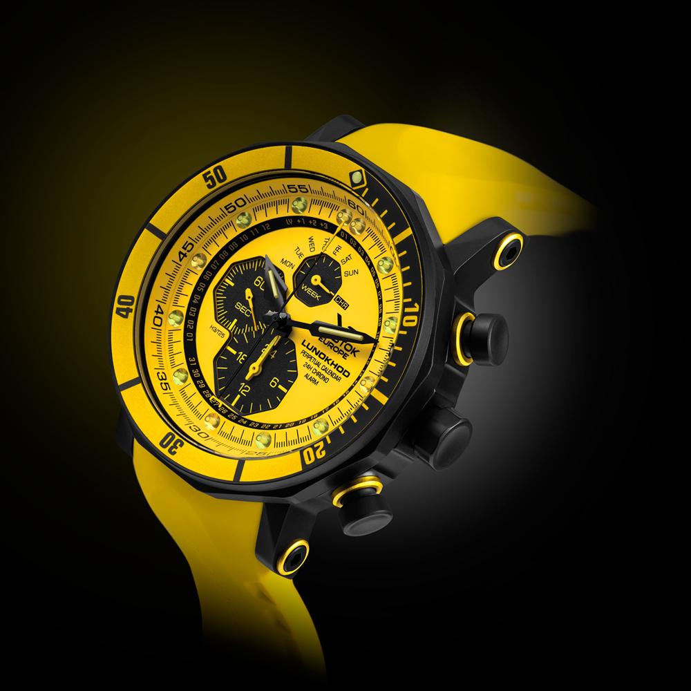 Zegarek męski Vostok Europe lunokhod YM86-620C504 - duże 4