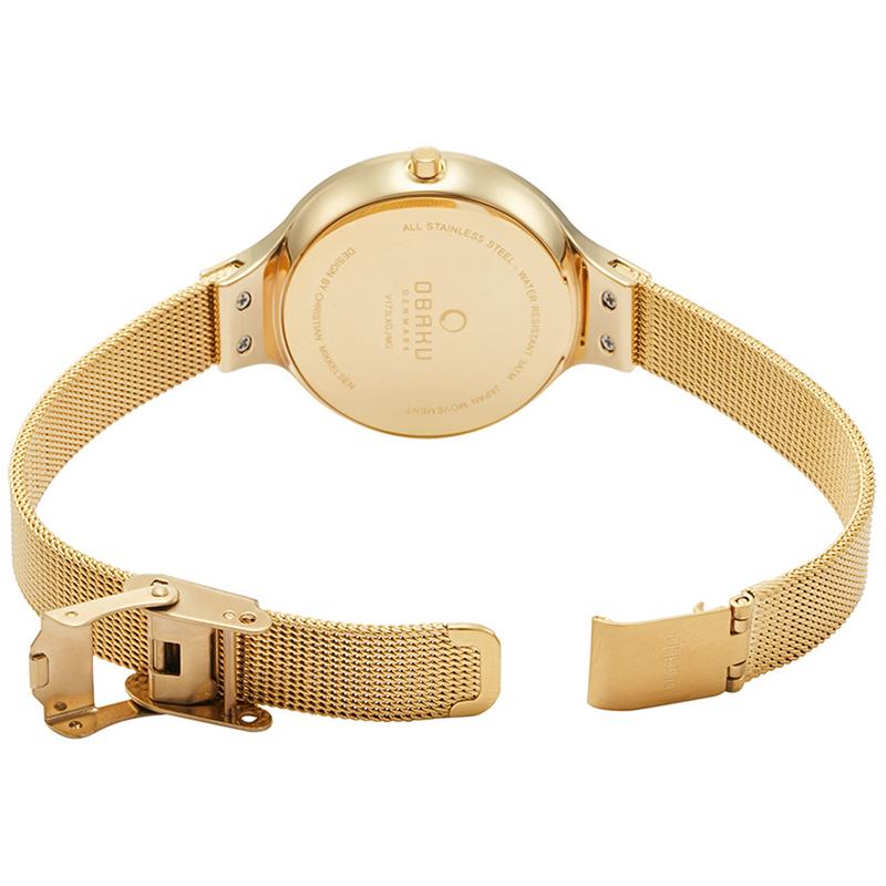 Zegarek damski Obaku Denmark slim V173LXGJMG - duże 3