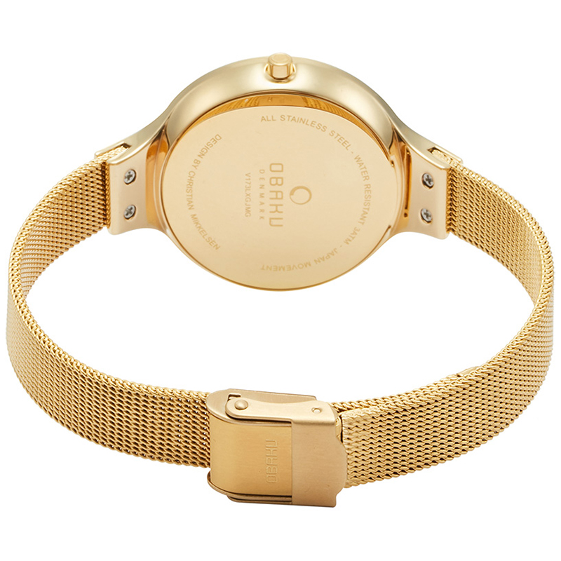 Zegarek damski Obaku Denmark slim V173LXGJMG - duże 4