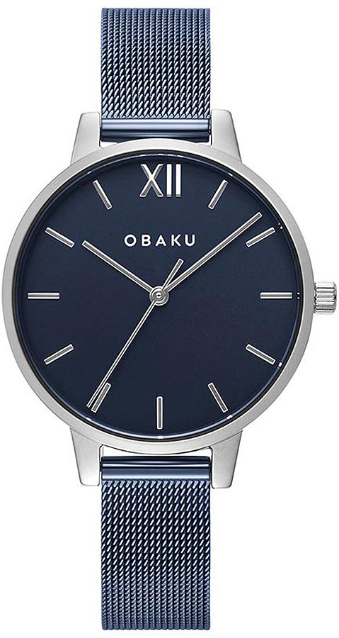 Zegarek damski Obaku Denmark slim V209LXCLML - duże 1