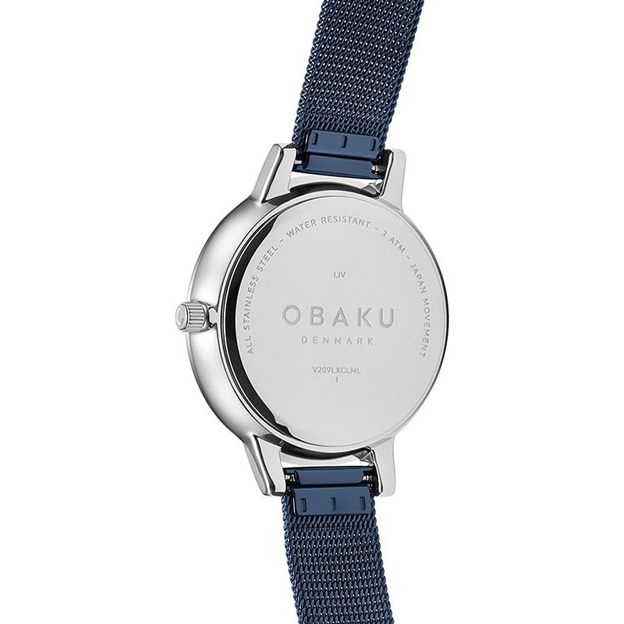Zegarek damski Obaku Denmark slim V209LXCLML - duże 2