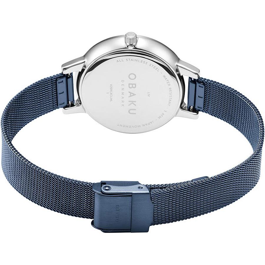 Zegarek damski Obaku Denmark slim V209LXCLML - duże 3