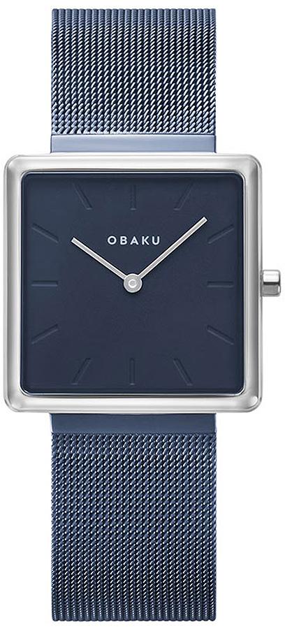 Zegarek damski Obaku Denmark slim V236LXHLML - duże 1
