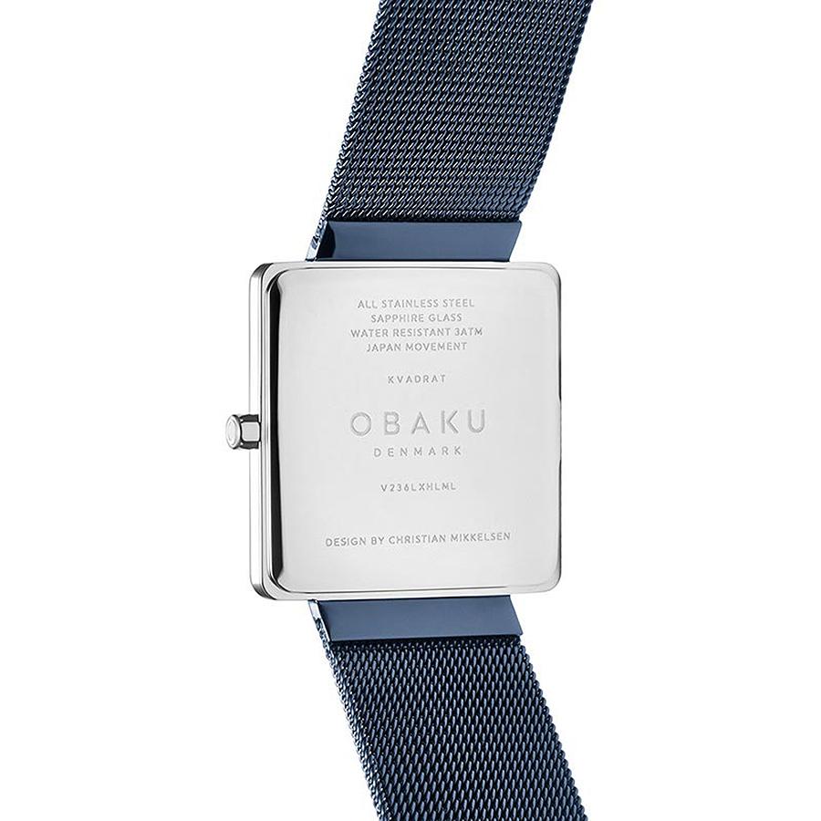 Zegarek damski Obaku Denmark slim V236LXHLML - duże 2