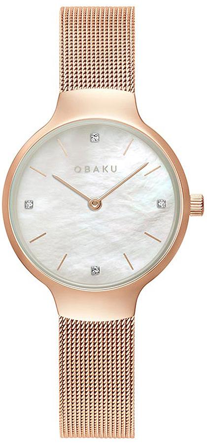 Zegarek damski Obaku Denmark slim V241LXVWMV - duże 1
