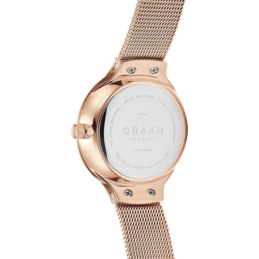 Zegarek damski Obaku Denmark slim V241LXVWMV - duże 2