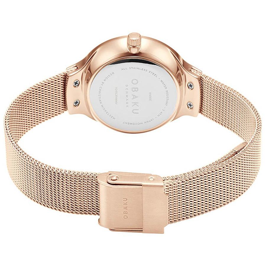 Zegarek damski Obaku Denmark slim V241LXVWMV - duże 3