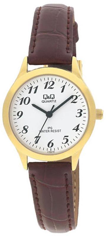 Zegarek damski QQ damskie C153-104 - duże 1