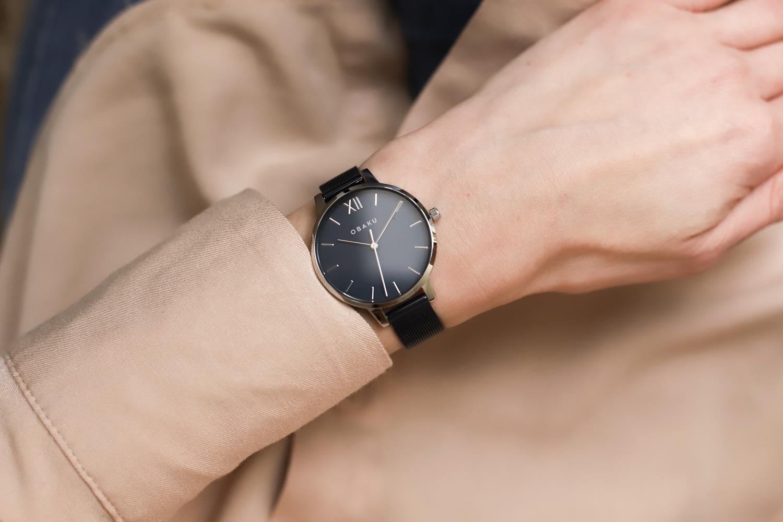 Zegarek damski Obaku Denmark slim V209LXCLML - duże 5