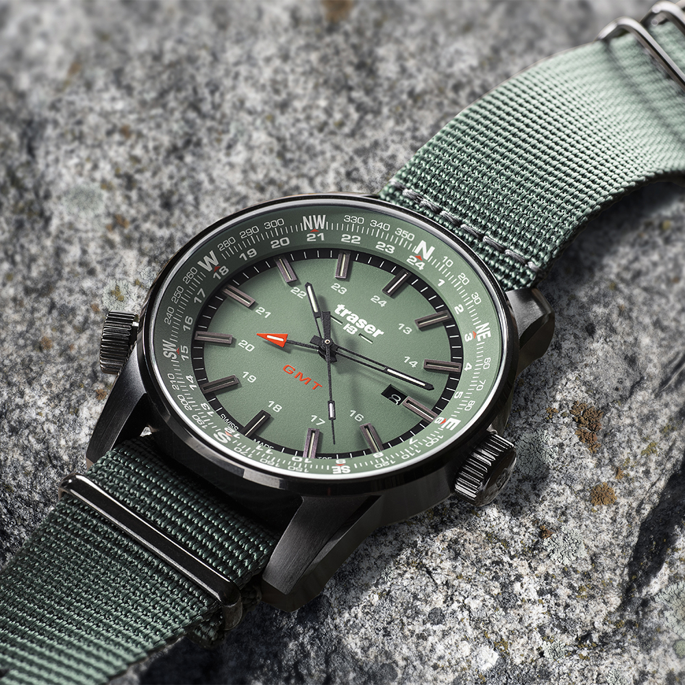 Zegarek męski Traser p68 pathfinder TS-109035 - duże 9