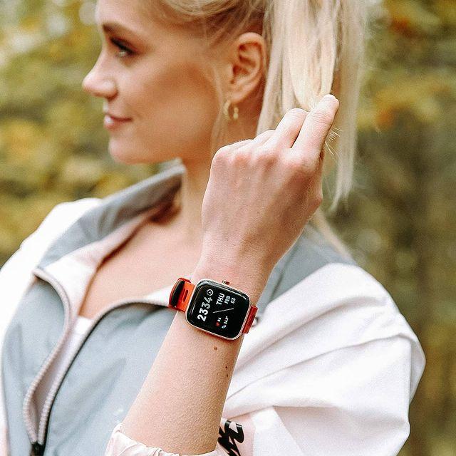 Zegarek unisex Vector Smart smartwatch VCTR-31-01RG-S4RD - duże 2