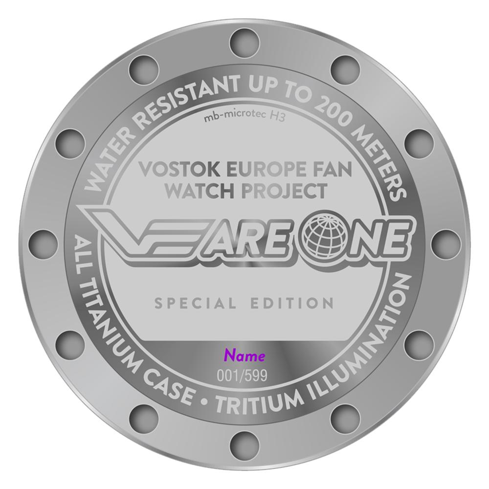 Zegarek męski Vostok Europe special editions YM8J-510H434 - duże 2