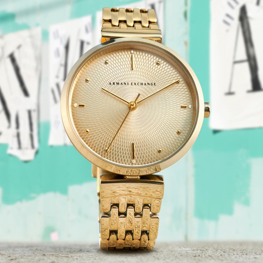 Zegarek damski Armani Exchange fashion AX5902 - duże 3