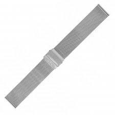 Bransoleta do zegarka  Bisset BM-101-18-SILVER