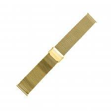 Bransoleta do zegarka męski Bisset BM-102-22-GOLD