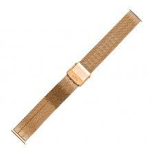 Bransoleta do zegarka  Bisset BM-103-16-ROSE