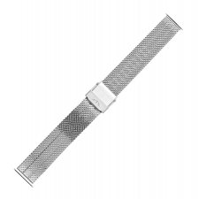 Bransoleta do zegarka  Bisset BM-103-18-SILVER