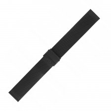 Bransoleta do zegarka damski Bisset BM-101-16-BLACK