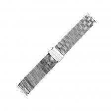 Bransoleta do zegarka męski Bisset BM-102-22-SILVER