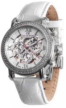Zegarek damski Carl von Zeyten CVZ0062WH
