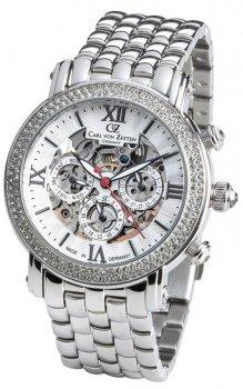 Zegarek damski Carl von Zeyten CVZ0062WHMB