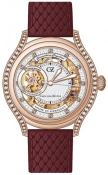 Zegarek damski Carl von Zeyten CVZ0069RWH