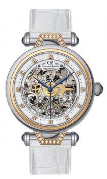 Zegarek damski Carl von Zeyten CVZ0070RWH