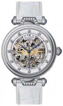 Zegarek damski Carl von Zeyten CVZ0070WH