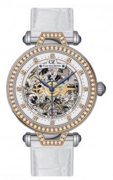 Zegarek damski Carl von Zeyten CVZ0071RWH