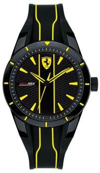 Zegarek męski Scuderia Ferrari SF 0830480 RED REV