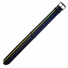 Traser TS-10780624mm Textile Strap Blue/Yellow