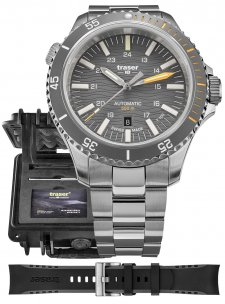 Traser TS-110329P67 SuperSub Diver Automatic Gray Special Set T100