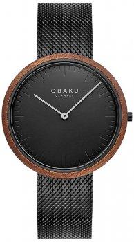 Zegarek męski Obaku Denmark V245GXBBMB