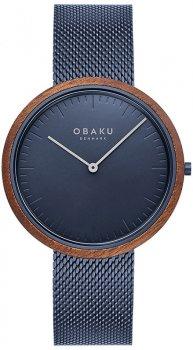 Zegarek męski Obaku Denmark V245GXLLML