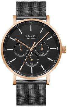 Zegarek męski Obaku Denmark V246GMVBMB