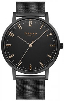 Zegarek męski Obaku Denmark V248GXBBMB