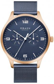 Zegarek męski Obaku Denmark V249GMVLML