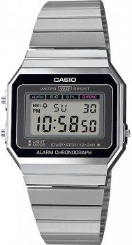 Zegarek damski Casio A700WE-1AEF