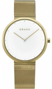Zegarek damski Obaku Denmark V230LXGWMG1