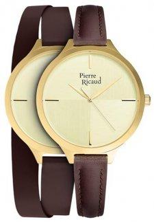Zegarek damski Pierre Ricaud P22005.1B11LQ-SET