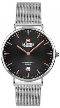Zegarek męski Le Temps LT1018.47BS01